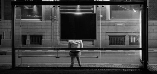 bus-stop-bw
